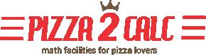 Pizza2calc